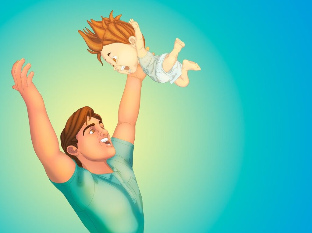 father, son, baby-2715416.jpg